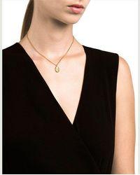 Miansai Mini Palm Necklace - Metallic