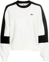 Lacoste Sweatshirt - White