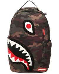 Sprayground Torpedo Shark Camo - Multicolour