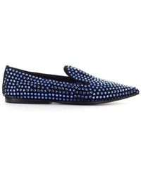 Eddy Daniele Low Shoes Loafers - Blue