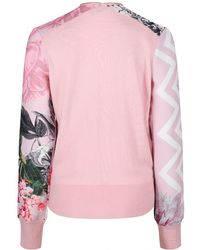 Ted Baker - Women's Pakrom Palace Gardens Zipped Cardigan - Lyst