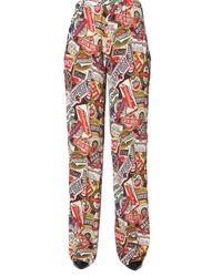 DSquared² Wide Trousers - Multicolour