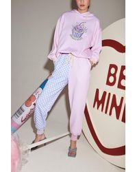 Olivia Rubin Laurel Sugar High Hoodie - Pink