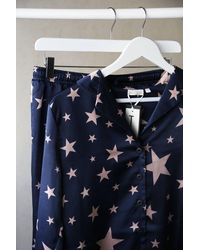 Tutti & Co Starlet Print Pyjamas - Blue
