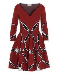 Alexander McQueen Women's 641909q1arx6050 White Dress