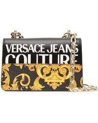 Versace Jeans Couture Versace Jeans Women's E1vwabg371727m27 Black Polyurethane Shoulder Bag