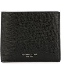 Michael Kors Men's 39f5lhrf1l001 Black Leather Wallet