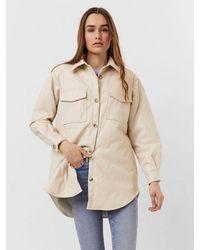 Vero Moda Duffy Jacket-oatmeal - Natural
