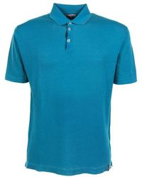 Jacob Cohen T-shirts And Polos Turquoise - Blue