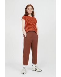 ARMEDANGELS Kamalaa Lyocell Cropped Trousers Cacao - Brown