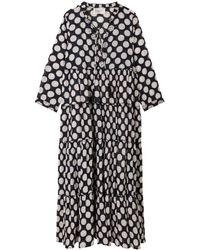 Leon & Harper Rebus Dots Dress - Black