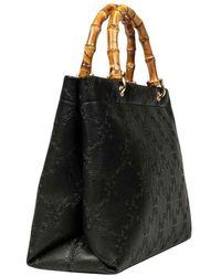 Roberta Di Camerino Bamboo Shopping Large - Black