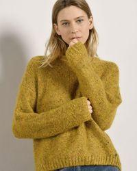 Mat De Misaine Tapas Mohair Blend Sweater - Yellow