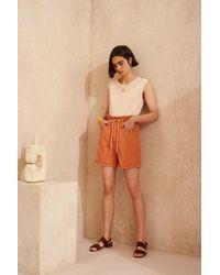 Bellerose Pistil Sandstone Shorts - Multicolour