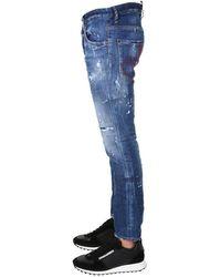 DSquared² Skater Fit Jeans - Blue