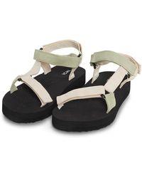 Ichi Faro Sandals - Black
