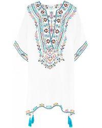 Star Mela - Soli Embroidered Kaftan - Lyst