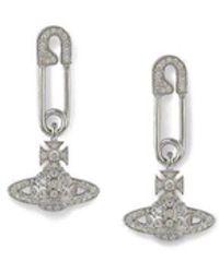 Vivienne Westwood Lucrese Earrings - Metallic