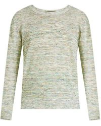Veronica Beard Henderson Space-dyed Pullover - Green