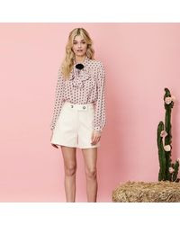 Sister Jane On The Road Textured City Shorts - Pink