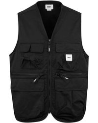 Obey Warfield Utility Vest - Black