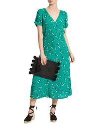 Sessun Sessùn Upala Floral Printed Dress - Green