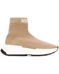 MM6 by Maison Martin Margiela Sock-sneakers - Natural