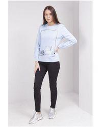 Love Moschino Logo Box Pocket Jeans Colour: Black