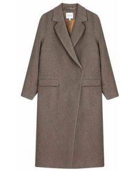 House of Dagmar Cameron Coat - Nicciola - Grey
