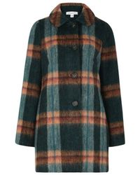 Emily and Fin - Authenticity Abounds Plaid Coat - Lyst
