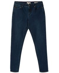 Joules Ladies Monroe High Rise Stretch Skinny Jeans - Blue