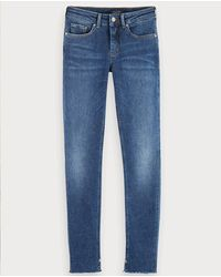 Scotch & Soda La Bohemienne Hot Shot Skinny Jeans - Blue