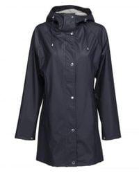 Ilse Jacobsen Rain 87 Raincoat Dark Indigo - Blue