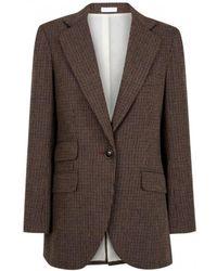 INTROPIA - Tweed Blazer - Lyst