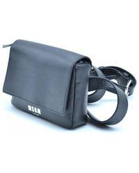 MSGM Cross Body Bag - Black