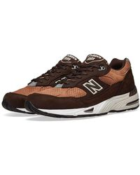 New Balance M991dbt - Made In England Dark Brown & Tan