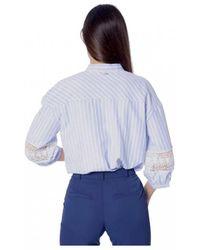 Silvian Heach - Fantasy Stripe Shirt - Lyst