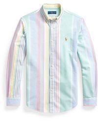Ralph Lauren Slim Fit Oxford Shirt , Colour: - Blue