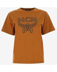 MCM T-shirts And Polos - Brown
