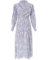 Isabel Marant Lyocell Dress - Blue