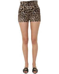 Dolce & Gabbana Animal Shorts - Multicolor