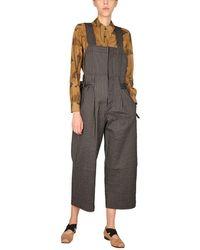 Uma Wang Stone Trousers - Grey