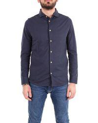 Heritage Cotton Shirt - Blue