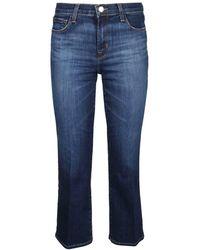 J Brand Cotton Jeans - Blue