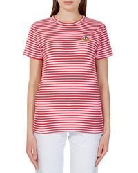 MOA Striped T-shirt - Red