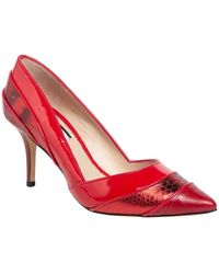 Lucy Choi Mayfair Mid Limited Edition - Red