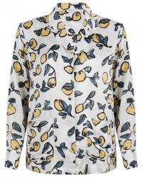 Love Stories Bluemoon Lemon Pyjama Shirt - White