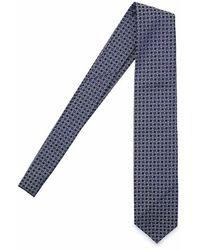 Salvatore Piccolo Cravatta - Blue