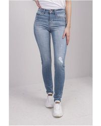 Guess 1981 Skinny In Surd Eco Colour: Light Blue