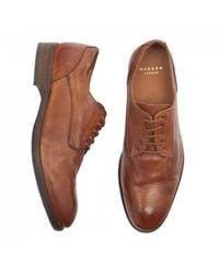 H by Hudson Hudson Dorsay Derby Shoes - Brown
